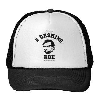 A Dashing Abe BLK Logo Trucker Hat