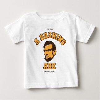 A Dashing Abe Logo Baby T-Shirt