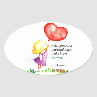 A Daughter Is.. Stickers