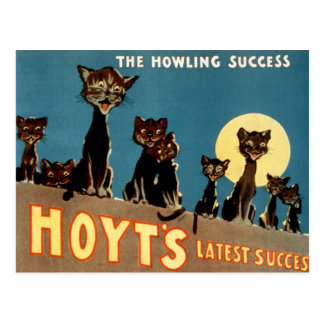 A Day and a Night - The Howling Success Postcard