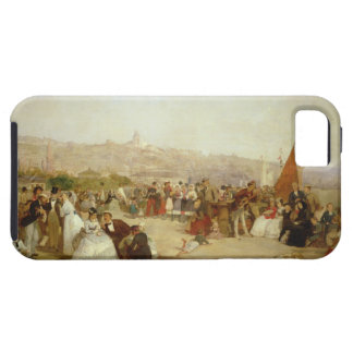 A Day at Boulogne, 1870 (oil on canvas) iPhone 5 Cover
