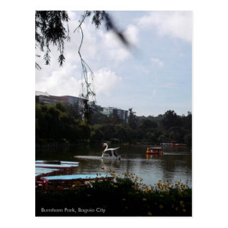 A Day at Burnham Park, Baguio City, Phil.,Postcard Postcard