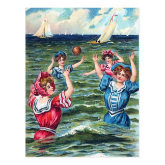 A Day at the Beach 004 Greeting Card Postcard