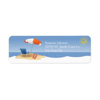 A Day At the Beach Ocean Waves Flip Flops Custom