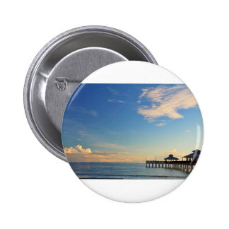 A Day at the Shore 2 Inch Round Button