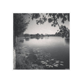 A Day by the Lake by Pablo A. Cuadra Canvas Print