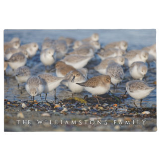 A Day for Dunlins and Sanderlings Doormat
