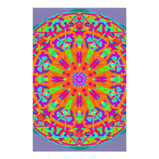 A Day for Me Mandala Design Stationery