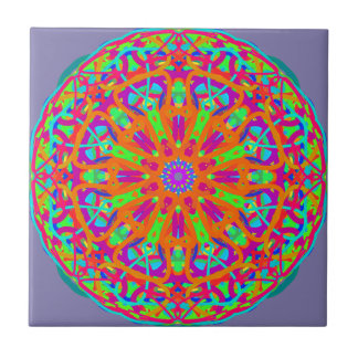A Day for Me Mandala Design Tile