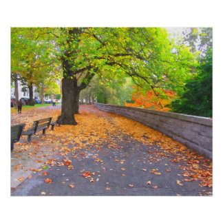 A DAY IN AUTUMN POSTER