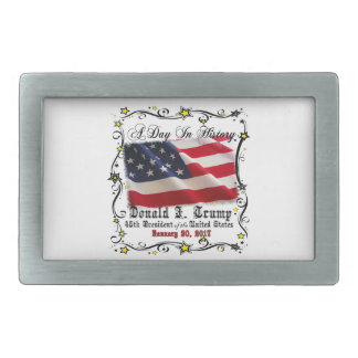 A Day In History Trump Pence Inauguration Belt Buckles