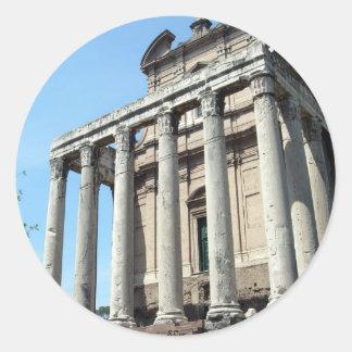 A Day in Rome Classic Round Sticker
