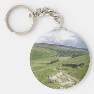 A Day in the Dales Basic Round Button Keychain