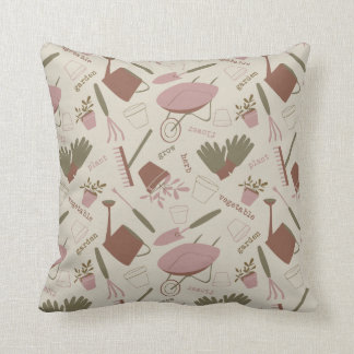 A Day in the Garden - Gardening Pillow