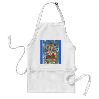 A day in the life of an African woman Standard Apron