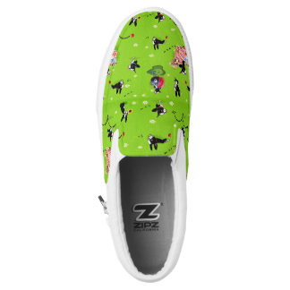 A Day in the Park with Mirabelle summer slip on! Slip-On Sneakers