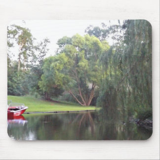A day on the water mouse pad