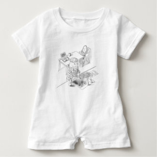 A day with Dad Baby Romper