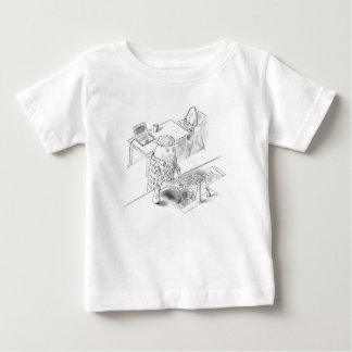 A day with Dad Baby T-Shirt