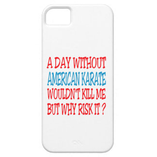 A Day Without American Karate. iPhone 5 Covers