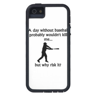 A Day Without Baseball iPhone 5 Case