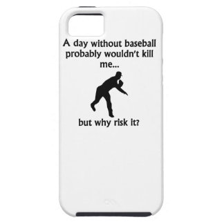 A Day Without Baseball iPhone 5 Cases
