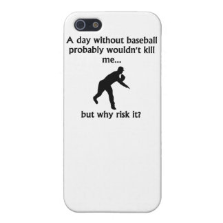 A Day Without Baseball iPhone 5 Covers