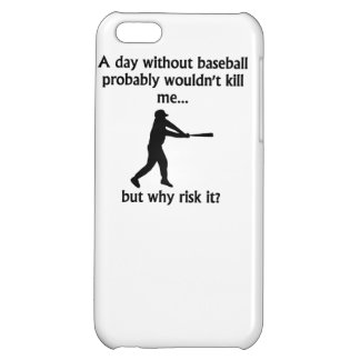 A Day Without Baseball iPhone 5C Cases