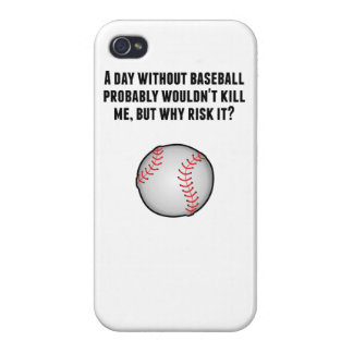 A Day Without Baseball Case For iPhone 4