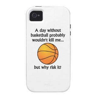 A Day Without Basketball Case-Mate iPhone 4 Case