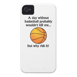 A Day Without Basketball iPhone 4 Case
