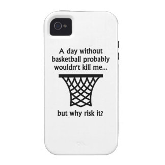 A Day Without Basketball iPhone 4 Cases