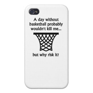 A Day Without Basketball Cover For iPhone 4