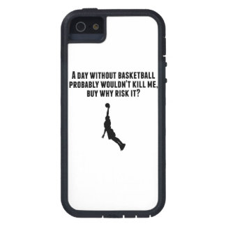 A Day Without Basketball iPhone 5 Case