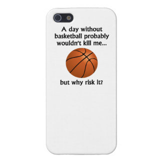 A Day Without Basketball iPhone 5 Cases