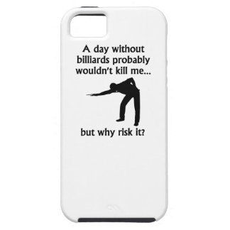 A Day Without Billiards iPhone 5 Cases
