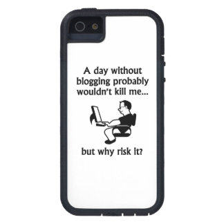 A Day Without Blogging iPhone 5 Cases