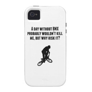A Day Without BMX Vibe iPhone 4 Cover