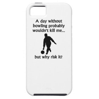 A Day Without Bowling iPhone 5 Cases