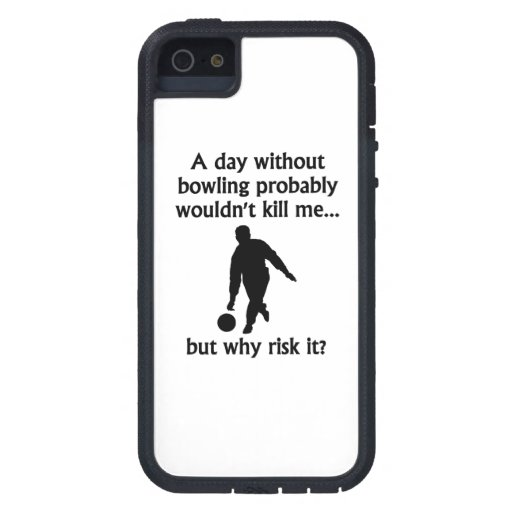 A Day Without Bowling iPhone 5 Cover
