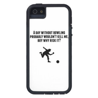 A Day Without Bowling iPhone 5 Case