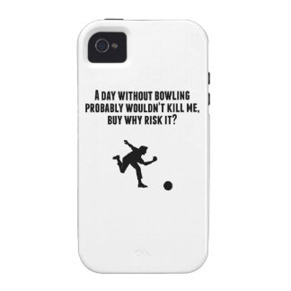 A Day Without Bowling iPhone 4/4S Cover