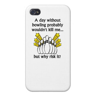 A Day Without Bowling iPhone 4/4S Cases