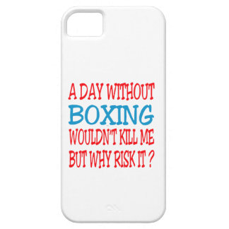 A Day Without Boxing. iPhone 5 Cover