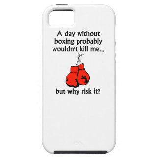 A Day Without Boxing iPhone 5 Covers