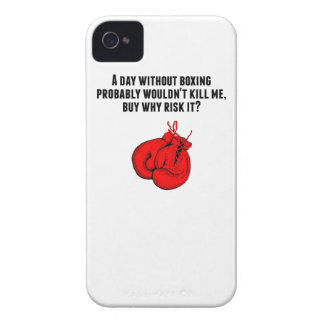 A Day Without Boxing iPhone 4 Case-Mate Cases