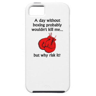 A Day Without Boxing iPhone 5 Cover