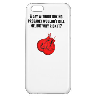 A Day Without Boxing iPhone 5C Cases