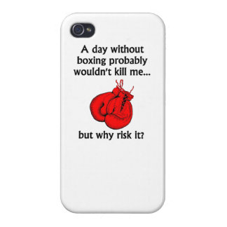 A Day Without Boxing iPhone 4 Cover