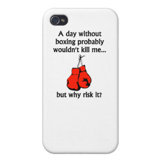 A Day Without Boxing iPhone 4 Cases